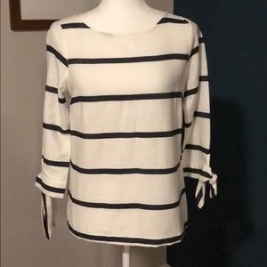 Anthropologie Poetry striped top